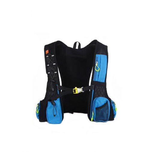 Local Lion Outdoor Backpack Vest Bag - Blue/Green