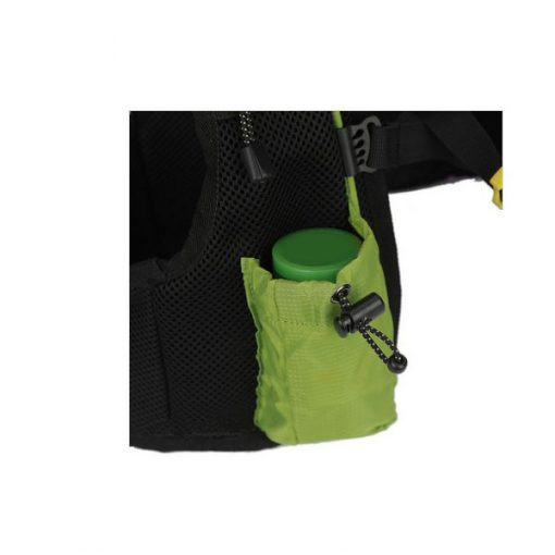 Local Lion Outdoor Backpack Vest Bag - Green/Red