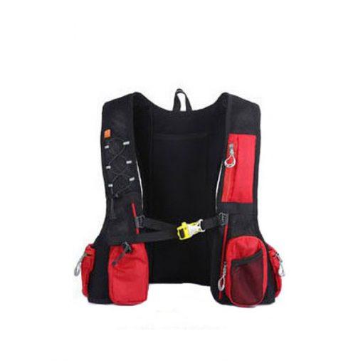 Local Lion Outdoor Backpack Vest Bag - Red/Blue