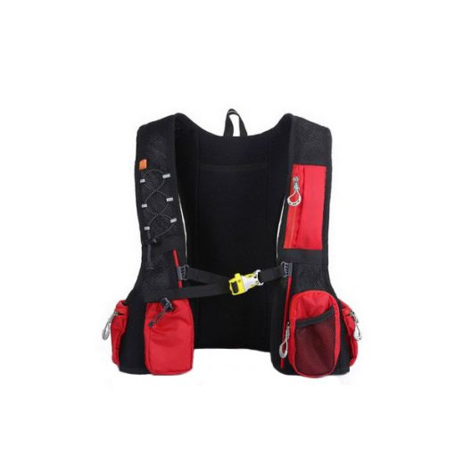 Local Lion Outdoor Backpack Vest Bag - Red/Green