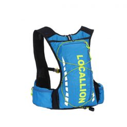 Local Lion Outdoor Backpack Vest Bag - Blue/Green