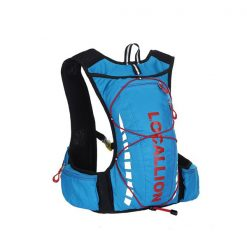 Local Lion Outdoor Backpack Vest Bag - Blue/Red