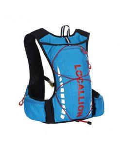 Local Lion Outdoor Backpack Vest Bag - Blue/Red