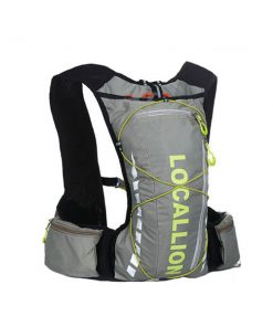 Local Lion Outdoor Backpack Vest Bag - Gray/Yellow