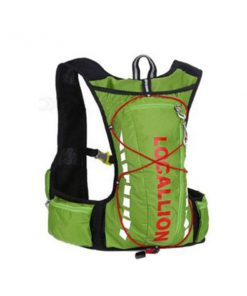 Local Lion Outdoor Backpack Vest Bag - Green/Red