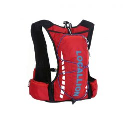 Local Lion Outdoor Backpack Vest Bag - Red/Blue