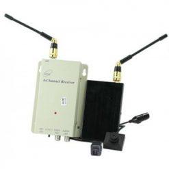 Long Range 200 - 500 meters Wireless Button Camera