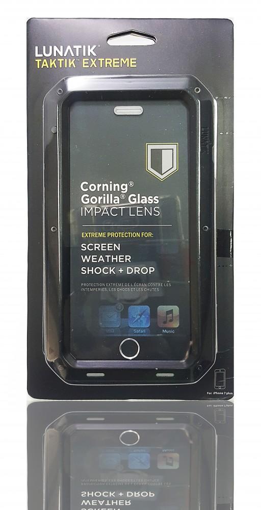 best service f3fac 207b3 Lunatik Taktik Tactical Extreme Case Cover Apple iPhone 7 Plus - Black