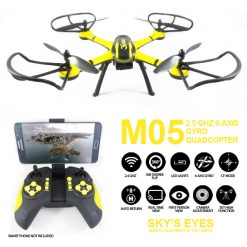 M05 Gyro Quadcopter 2.5ghz 6 Axis - Yellow