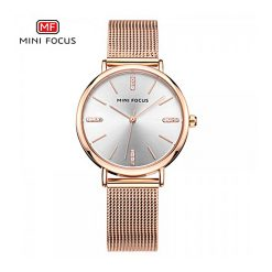 Mini Focus Quartz Women Watch - Bronze