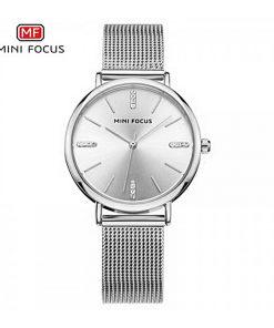 Mini Focus Quartz Women Watch - Silver