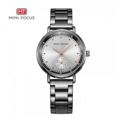 Mini Focus Sub-Dial Luxury Quartz Women Watch - White