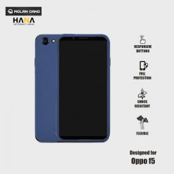 Molan Cano Ultra Lightweight Protective Soft TPU Case for  OPPO F5 - Blue