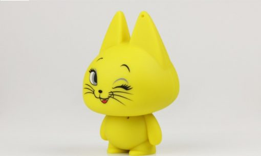 Kitten Mini Speaker - Yellow