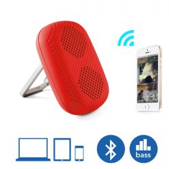 MϋV Mini Carabiner Bluetooth Speaker - Red