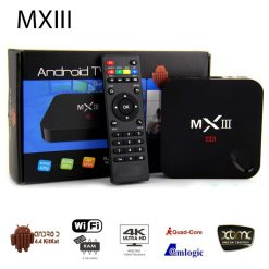 MXIII-G Android Internet TV Box Multimedia Gateaway - Black