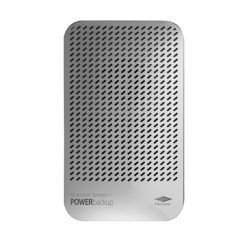 Bluetooth Speaker With 5000mAh Powerbank - Silver