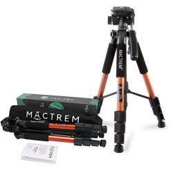 Mactrem PT55 Compact Travel Lightweight Tripod - Bronze
