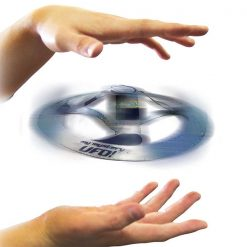 Amazing Magic UFO Floating Flying Disk - Silver