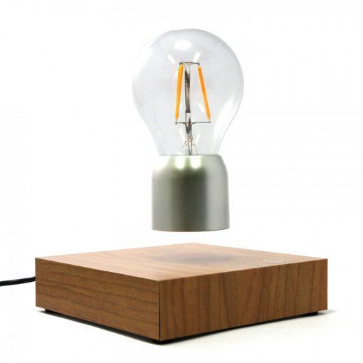 Magnetic Levitation Light Bulb - Silver