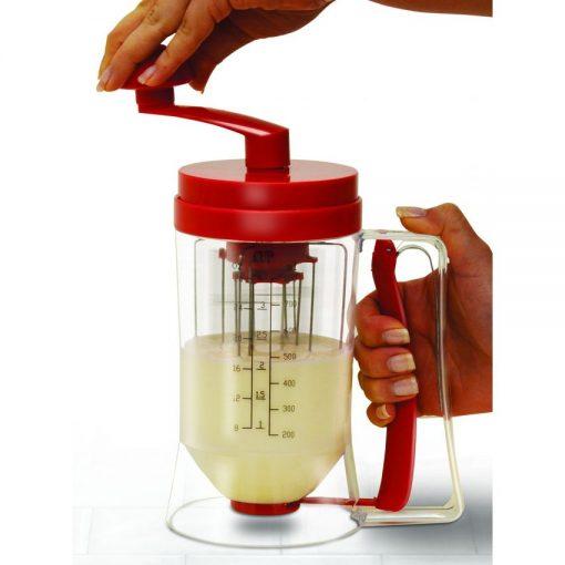 Manual Pancake Machine and Dispenser - Red