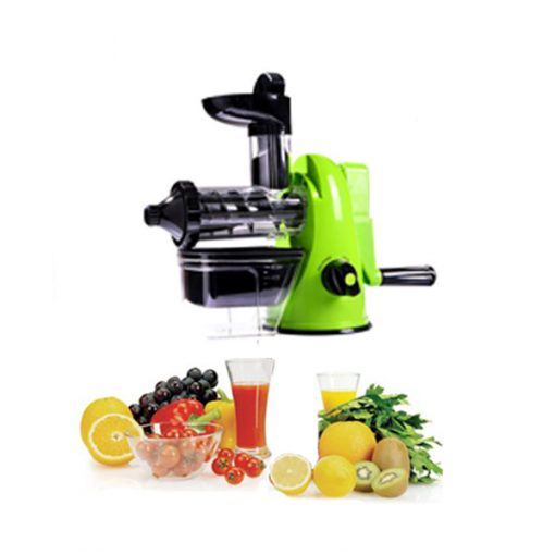 Manual Juicer - Black and Green
