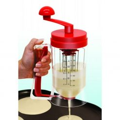 Manual Pancake Machine and Dispenser - Red