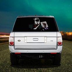 High Beam Marvel Joker Car Tint Rear Window Sticker DT26 - Black