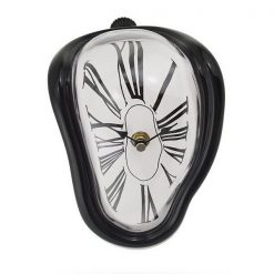 Melting Quartz Clock - Black