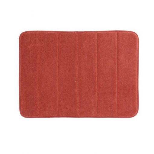 Memory Foam Bath Mat - Red