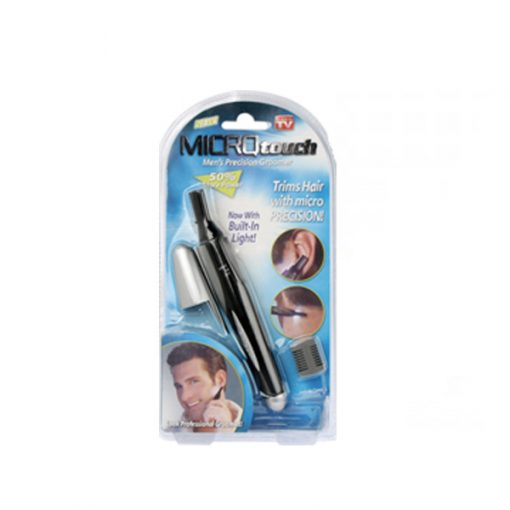 Men's Precision Micro Touch Trimmer with LED Light - Black