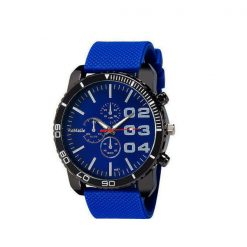 Men Stainless Sport Watch - Blue