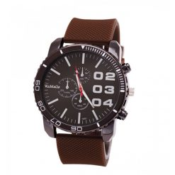 Men Stainless Sport Watch - Brown