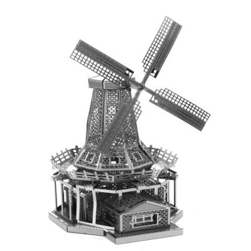 Metallic Nano Puzzle - Windmill