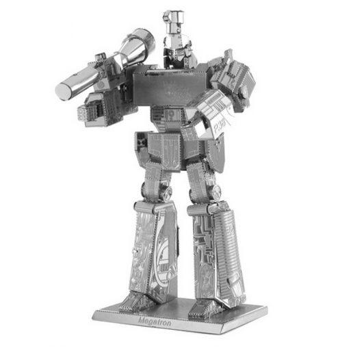 Metallic Nano Puzzle Megatron - Silver