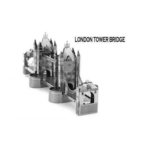 Metallic Nano Puzzle - London Bridge