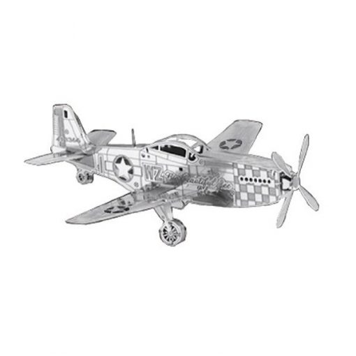 Metallic Nano Puzzle - Mustang Air Craft