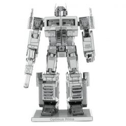 Metallic Nano Puzzle Optimus Prime - Silver