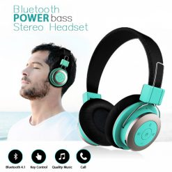 Mezone Bluetooth Stereo Headset with Mic - Green