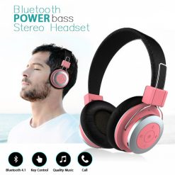 Mezone Bluetooth Stereo Headset with Mic - Pink