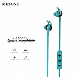 Mezone Bluetooth In-Ear Running Music Stereo Handsfree Headphones - Green