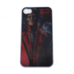 Michael Jacson Thriller 3D Protective case for Iphone 4/4s - White