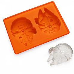 Millennium Falcon Ice Cube Tray - Orange