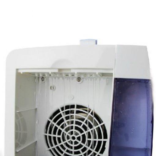 Portable Mini Evaporative Air Cooling Fan - Blue
