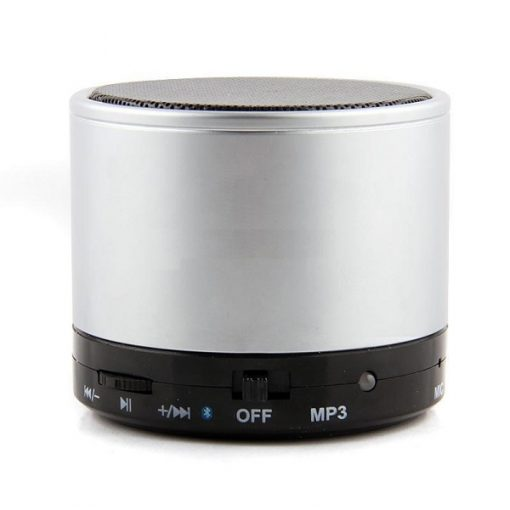 Mini Bluetooth Speaker with MP3 - Grey