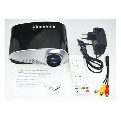 Mini Digital 60 Lumens LED Multimedia - Black