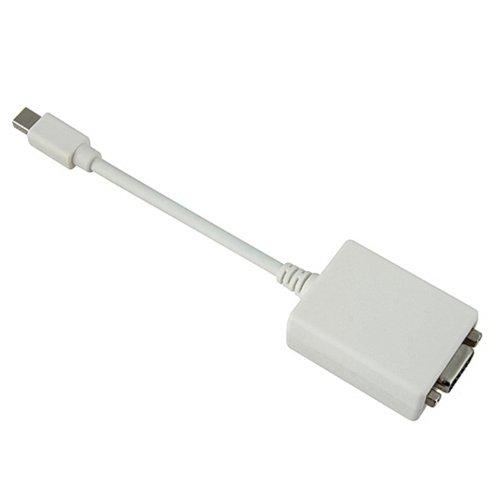 Mini Display Port to Male VGA Adapter - White