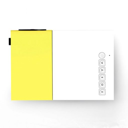 Mini Pocket LED Projector - Yellow