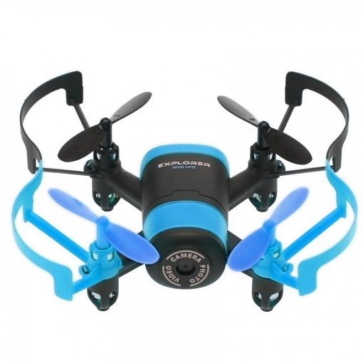 Mini UFO Wifi Phone APP Control Quadcopter With 0.3MP HD Camera  - Blue