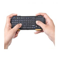 Mini Bluetooth Keyboard with Built In Touchpad - Black